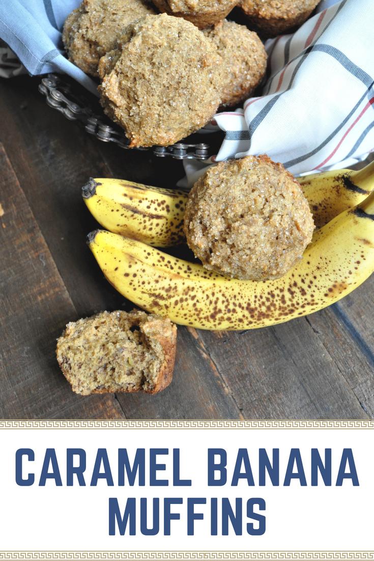 Caramel Bananamuffins