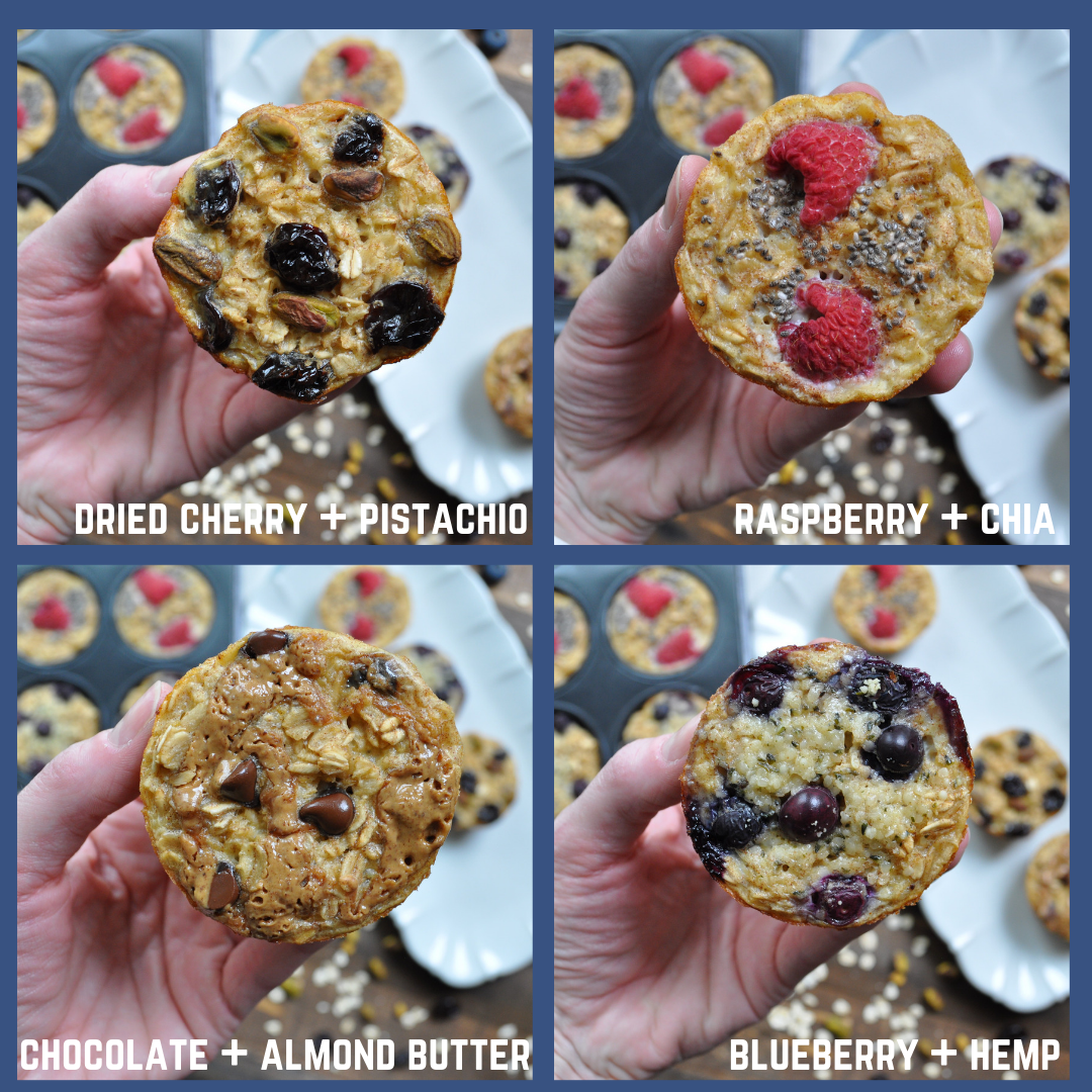 Oatmeal Cup Toppings