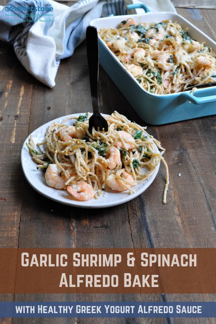 Shrimp Spinach Bake