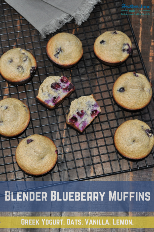 Blueberry Muffins - Blender