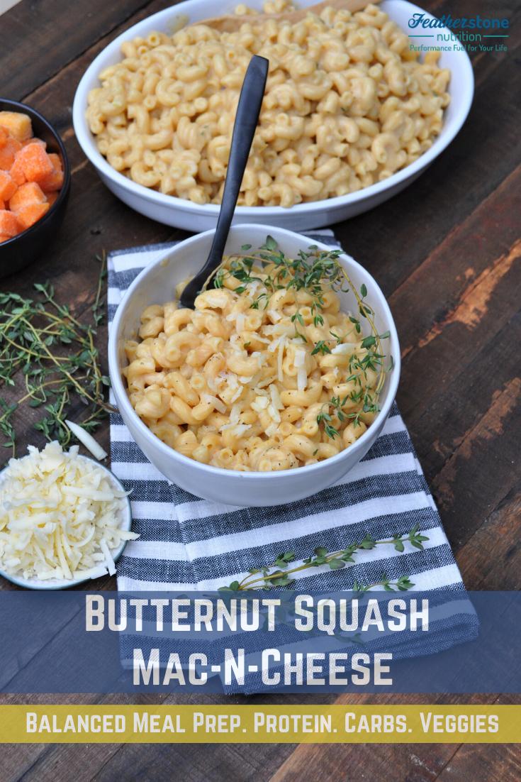 Mac-n-Cheese Butternut Squash